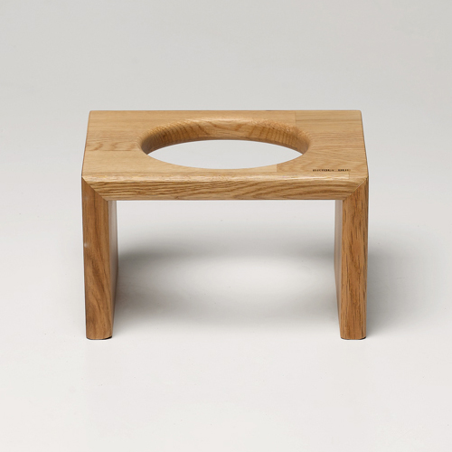 BRIDGE CAT  TRAY 12CM - OAK/MERBAU