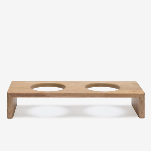 BRIDGE TRAY 2  9CM - OAK/MERBAU