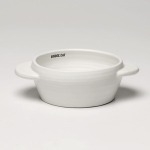 [BRIDGE.CAT] UFO WATER BOWL  - WHITE