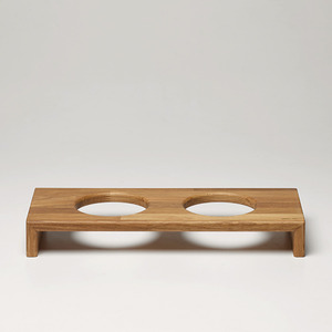 [CAT] TRAY 6CM - OAK/MERBAU