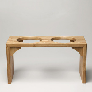 BRIDGE TRAY 30CM - OAK/MERBAU