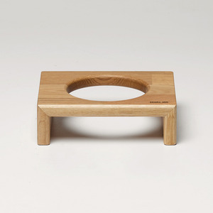 BRIDGE CAT TRAY 6CM - OAK/MERBAU