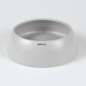 BRIDGE.CAT WATER BOWL 23CM - GRAY