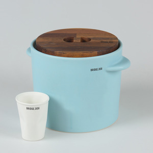 BRIDGE FEED BUCKET - MINT(WITH CUP)