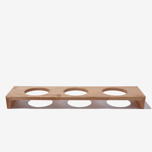 BRIDGE TRAY 3  12CM - OAK/MERBAU