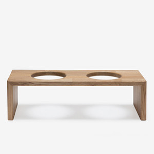 BRIDGE TRAY 2 17CM - OAK/MERBAU