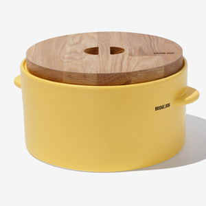BRIDGE FEED BUCKET- YELLOW(WITH CUP)