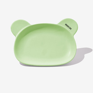 BRIDGE BEAR DISH-GREEN