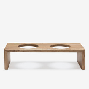 BRIDGE TRAY 2  12CM- OAK/MERBAU