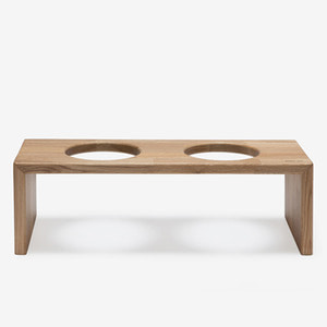 BRIDGE TRAY 2  20CM - OAK/MERBAU