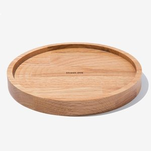 BRIDGE SNACK TRAY 21CM  - OAK