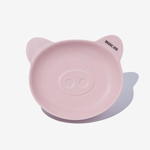 BRIDGE PIGGY DISH - PINK