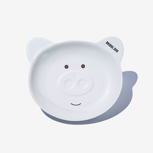 BRIDGE PIGGY DISH - WHITE FACE