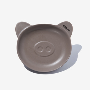 BRIDGE PIGGY DISH - COCOA