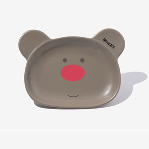 BRIDGE BEAR DISH- COCOA FACE