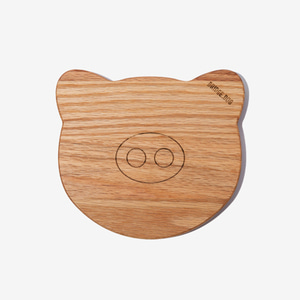 BRIDGE PIG  TRAY  - OAK