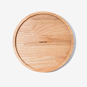 BRIDGE SNACK TRAY 19CM  - OAK