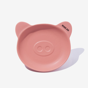 BRIDGE PIGGY DISH - CORAL PINK