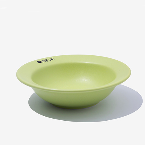 BRIDGE CAT MINI DISH - GREEN